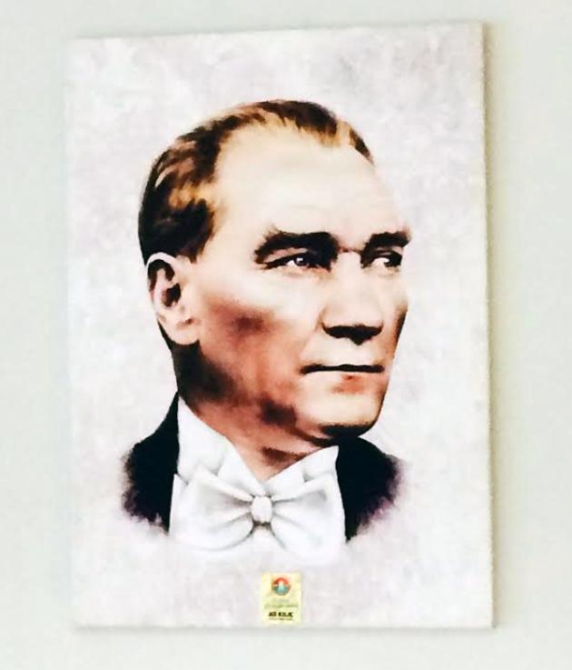 Canvas Atatürk Tablosu Baskısı