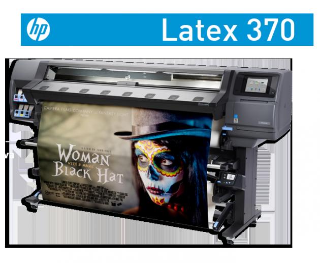 Hp Latex 370 iç mekan dijital baskı makinesi parkurumuzda yerini aldı.
