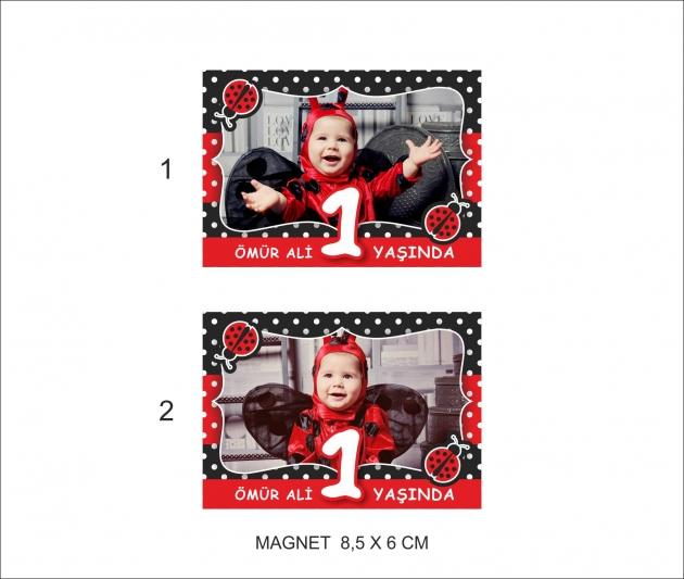 Doğumgünü magnet ve branda modelleri