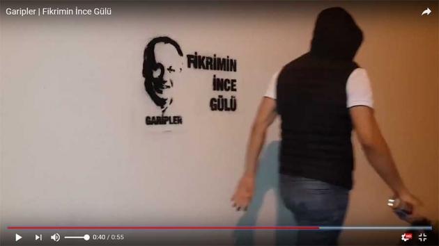 Muammer İnce CHP seçim çalışmaları için Stencil (şablon) kesim ve çalışmasını yapıldı. Garipler imzası ile çalışma yürüten İnce taraftarları, Çukur dizisi esinlenerek çektikleri videolar sosyal medyada gündem oldu.