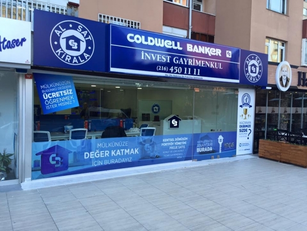 Coldwell Banker INVEST tabela, one way vision ve folyo uygulaması - (14/03/2014)