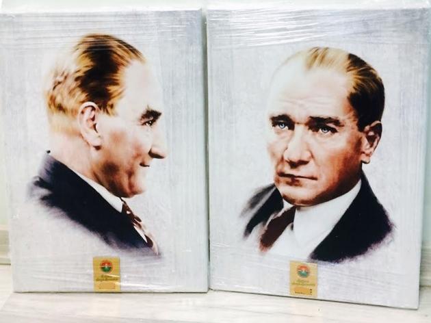 Canvas Atatürk Tablosu Baskısı - (14/03/2014)
