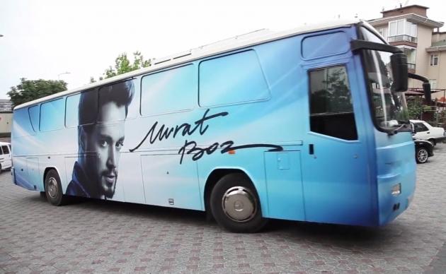 Murat Boz Otobüs Giydirme. - (14/03/2014)