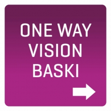ONE WAY VISION BASKI